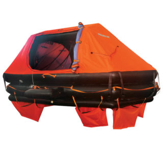 LALIZAS Liferaft SOLAS OCEANO, Davit-Launched Self-Righting